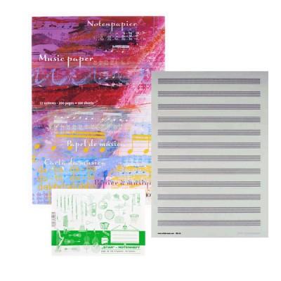 Marschmappen, Notenpapier & Geschenkartikel