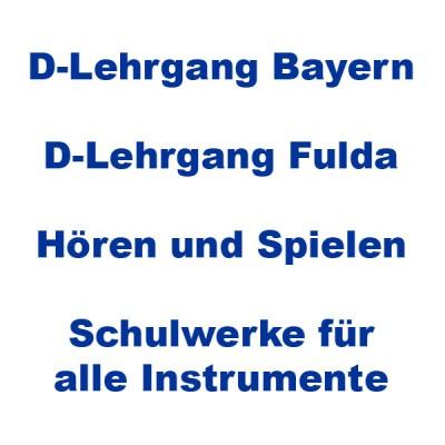Schulwerke / D-Lehrgänge