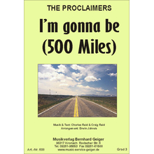 Im Gonna be (500 miles) - The Proclaimers