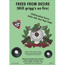 Freed from desire - Will Griggs on fire