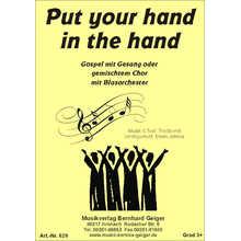Put your hand in the hand (Gospelsong) - Singpartitur Chor