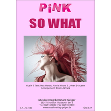 So what - Pink