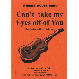 Cant take my Eyes off of You  -  Hermes House Band