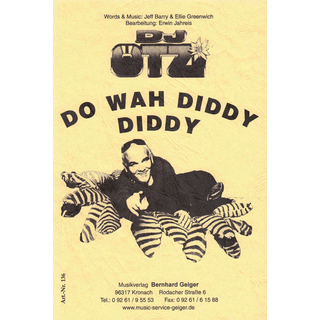 Do Wah Diddy  -  DJ Ötzi