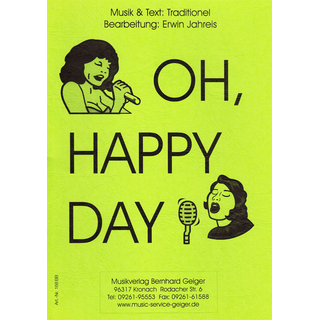 Oh happy day - Singstimmen