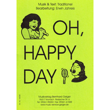 Oh happy day - Dirigier-Partitur
