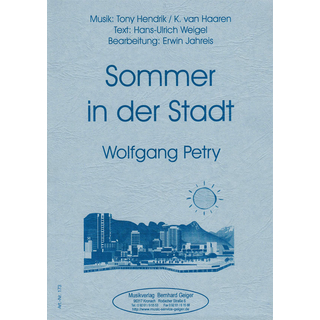 Sommer in der Stadt - W. Petry