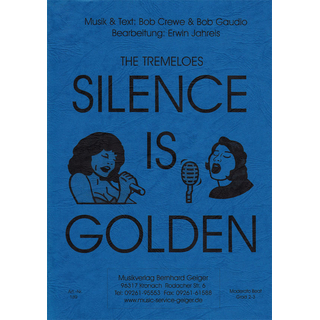 Silence is golden - The Tremeloes - Dirigier-Partitur