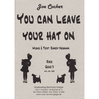 You can leave your hat on - Joe Cocker
