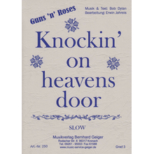 Knockin on heavens door - GunsnRoses