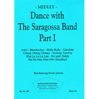 Dance with The Saragossa Band Part 1 - Medley
