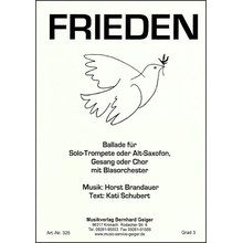 Frieden - Ballade - Singpartitur