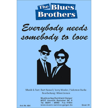 Everybody needs somebody to love - Blues Brothers