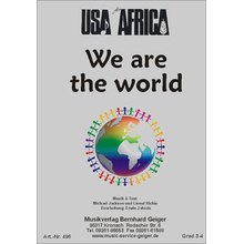 We are the world - USA for Africa - Dirigierpartitur GCH