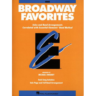 Broadway Favorites - Partitur mit CD